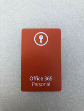 Microsoft Office 365 Personal - Product Key Card (EU LICENSE ONLY)