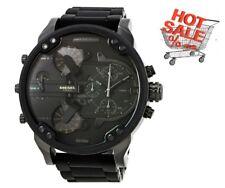 Reloj Cronógrafo nuevo Diesel DZ7396 Mr. Daddy 2.0 Negro 4 Zona Horaria para Hombre Regalo