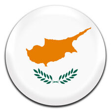 Cyprus Flag 25mm / 1 Inch D Pin Button Badge