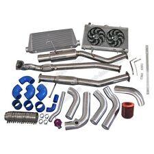 1JZ-GTE VVTI Swap Kit + Catback For 89-99 Nissan 240SX S13 S14 S15 Stock Turbo