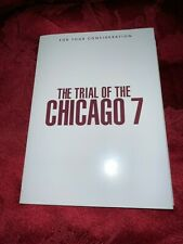 The Trial Of Chicago 7 Netflix FYC DVD 2020 Sacha Baron Cohen RARE white sleeve