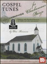 Gospel Tunes for Clawhammer Banjo TAB Music Book with Audio by Dan Levenson