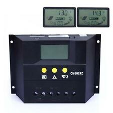 LCD 60A Solar Battery Regulator Charge Controller 12V/24V Auto Time&light UP
