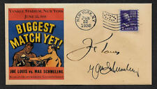 Joe Louis vs Max Schmeling Collector Envelope Original Period 1938 Stamp OP1113