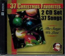 37 CHRISTMAS FAVORITES - THE SONGS WE LOVE - CAROL OF THE BELLS - NEW 2 CD SET