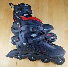 Rollerblade Zetrablade Men's Inline Skate - Black/Red size 12 Used 13843