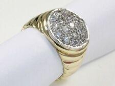 Handgefertigt Echtschmuck-Ringe aus mehrfarbigem Gold mit Brilliantschliff für Damen