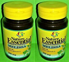 Melisa 300 mg. 2x50 capsulas NATURE ESSENTIAL