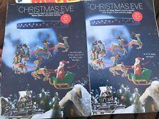 Alan Dart Pattern Christmas Eve Santa Claus, Sleigh & Reindeers Mobile 1 & 2
