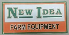 NEW IDEA FARM EQUIPMENT  BANNER - 48