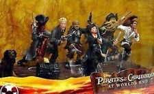 Disney Pirates of the Caribbean At World's End Figurine Set Exclusive PVC Figure