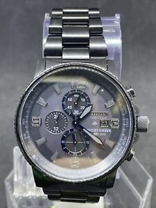 Citizen Eco-Drive Nighthawk CA0295-58E Wrist Watch for Men #19