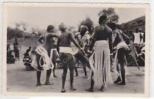 RPPC CÔTE D'IVOIRE Danses près de Bobo Dioulasso hommes femmes Edit LABITTE