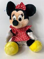 "Minnie Mouse Vintage VTG 1989 Disney Disneyland Walt Disney World Plush 15"""