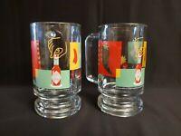 Tabasco Glass Mugs W/ Handle 12oz (Set of 2)
