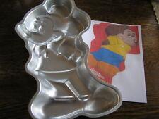 1978 Wilton Disney MICKEY MOUSE Full Body Cake Pan Mold #515-1805 w/ Instruction