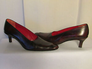 Court Shoes free lance Brown Leather Old Fashioned 40