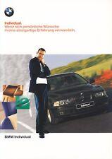 BMW INDIVIDUAL 8er E31 Z3 3er E36 5er E39 7er E38 Prospekt Brochure 1998 70