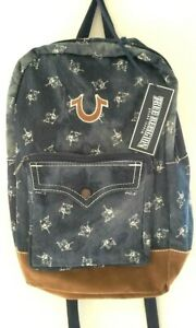 Sold Out TRUE RELIGION Buddha Print Backpack NWT