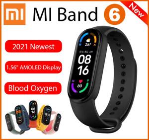 Xiaomi Mi Band 6 Smart Bracelet 5ATM Blood Oxygen Heart Rate Fitness Tracker