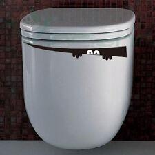 Sticker adesivo MOSTRO decorazione adesiva bagno toilette servizi igienici WC