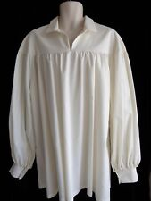 Men's Renaissance, Pirate, Peasant Shirt in Off White