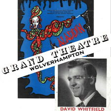 More details for 1954 wolverhampton grand theatre flyer david whitfield aladdin pantomime
