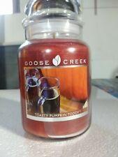 Goose Creek Toasty Pumpkin Toddy 2 Wick Candle