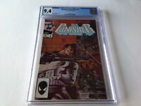 PUNISHER LIMITED SERIES 2 CGC 9.4 WHITE PGS MIKE ZECK STEVEN GRANT MARVEL COMICS