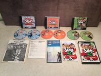 The Sims PC Game Lot Includes Deluxe Edition/Superstar/University + More