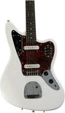 Squier Vintage Modified Jaguar Electric Guitar ~ Olympic White + 2 Fender Picks