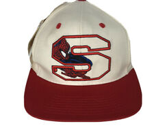 Marvel Spider-Man S 1994 NEW with tag trucker snapback Logo 7 hat  Red White