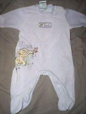 pyjama occasion mauve velours disney roi lion taille 0-3 mois