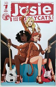 2016 JOSIE AND THE PUSSYCATS #1 NM Archie Comics Audrey Mok Variant Riverdale