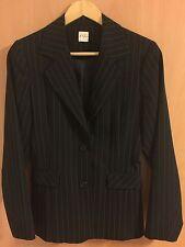 Orsay Nadelstreifen Damen Businesssuit Jacket Blazer schwarz Gr. 38/M