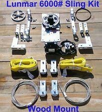 Lunmar 6000# Sling Kit Wood Mount
