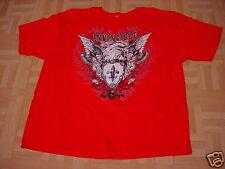Men's Red Invincible Eagle T-Shirt  Size 2XL