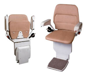 STANNAH 420 STAIRLIFT WITH POWER SWIVEL SEAT 1YR GUARANTEE: