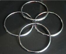 ABS silver Chrome Stero Speaker Collar Trim Fit For Chevrolet Cruze 2009 - 2014