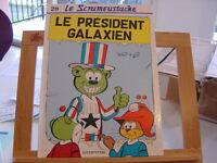 LE SCRAMEUSTACHE T29 EO1997 TBE/TTBE LE PRESIDENT GALAXIEN