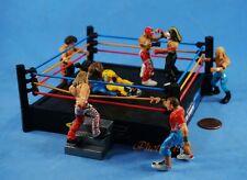 WWE MICRO AGGRESSION Jakks Wrestling Figur Set 5 Tortenfigur Dekoration K1041x5