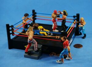 MICRO AGGRESSION Jakks Wrestling Figure Set 5 Cake Topper K1041x5