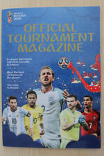 2018 FIFA WORLD CUP FINALS (RUSSIA) OFFICIAL TOURNAMENT MAGAZINE + 1966 REPRINT