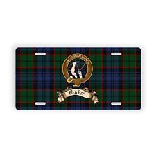 Fletcher Scottish Clan Novelty Auto Plate License Plate