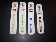St Feuillien Brasserie 4 STICKER PACK LOT decal craft beer brewery brewing