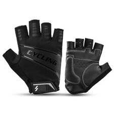 Half Finger Gloves Shock-Absorbing Breathable Cycling Gloves Anti-Slip Sports