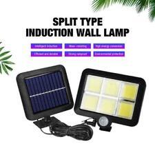 120LED COB Solar Motion Sensor Wall Light Outdoor Waterproof Garden Lamp G3L1