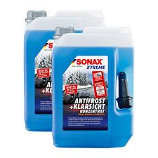 2x SONAX 02325050 XTREME AntiFrost+KlarSicht Konzentrat Scheiben Frostschutz 5L