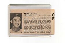 Al Kaline & Don Lock 1965  Dell Limited Ed. Cut-Out Panel Card VERY RARE!