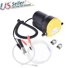 12V Motor Oil Diesel Extractor Scavenge Suction Transfer Change Pump Us Stock